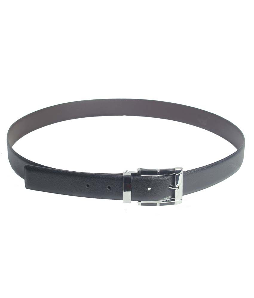 Revo Pure Leather Formal Reversible Belt with Pin Buckle