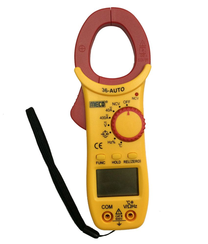 Low Price In India >> Meco Digital AC-DC Clamp Meter 36 AUTO: Buy Meco Digital AC-DC Clamp Meter 36 AUTO Online at Low ...