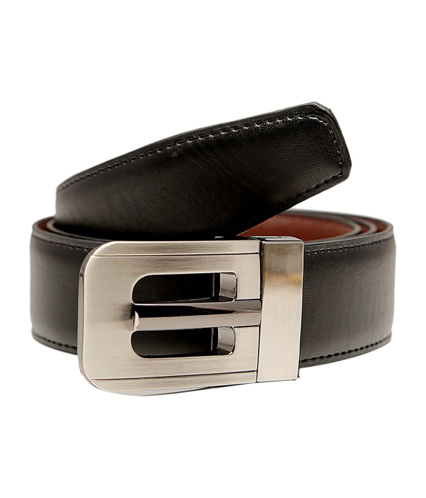 Tossido Stylish Synthetic Leather Reversible Belt