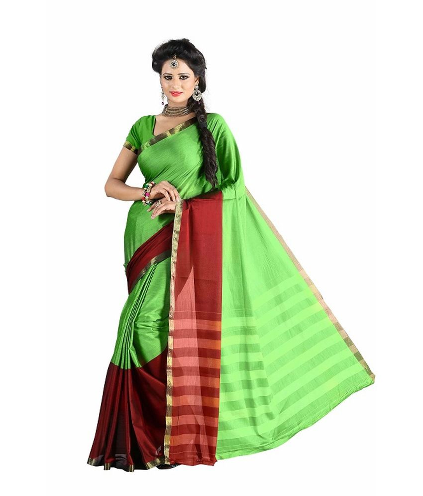 Harsh Sarees Plain Venkatagiri Handloom Cotton Saree