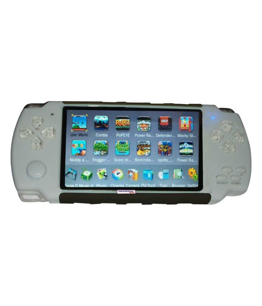 General Aux 3D Digital Player Game - White & Gray