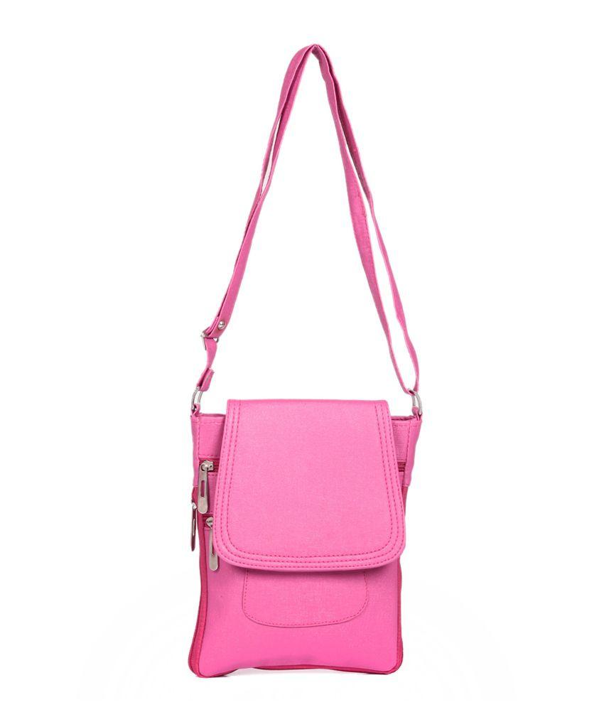 AFH Pink Sling Bag