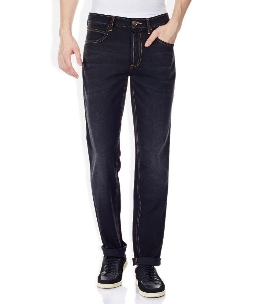 Newport Black Straight Fit Jeans