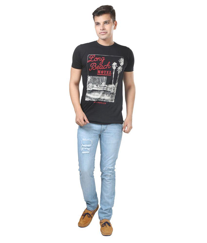 Trendy Trotters Cotton Non-Stretchable Light Blue Jeans