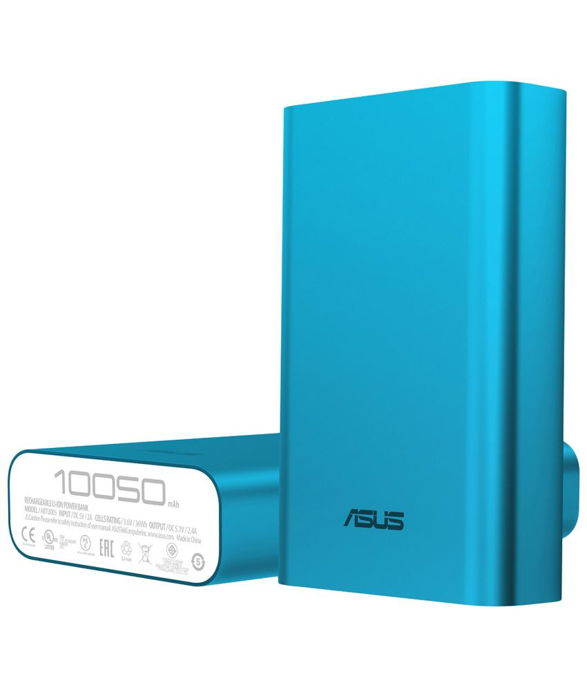 Asus Zenpower Power Bank Abtu005 10050mah Silver Expansys - Image result for asus 10050mah zen power bank blue
