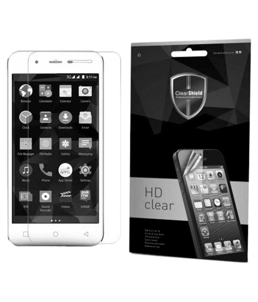 Micromax Canvas Spark Q380 Tempered Glass Screen Guard by Clear Shield