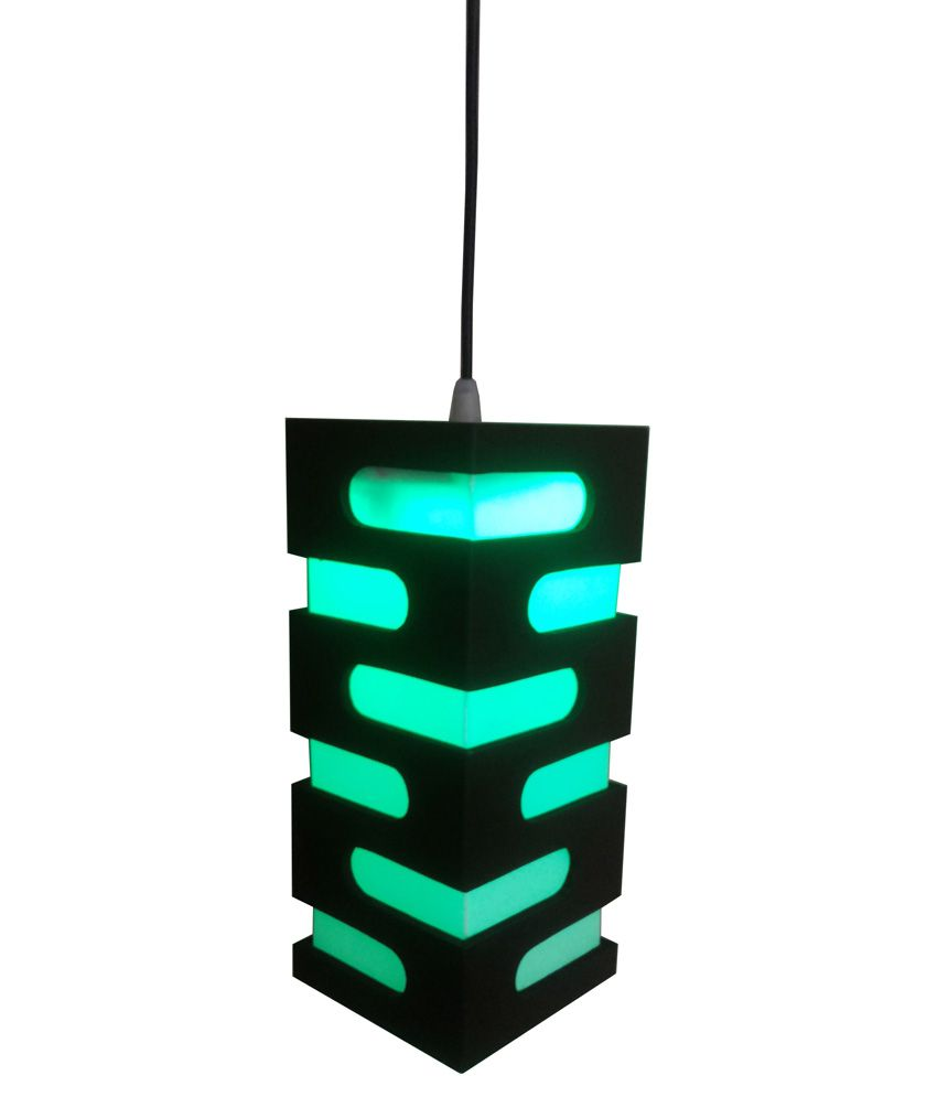 Fabionic Brown Wooden Hanging Led Light Best Price In