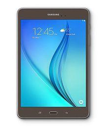 Samsung Galaxy Tab A (4G + Wifi, Calling, Smoky Titanium)