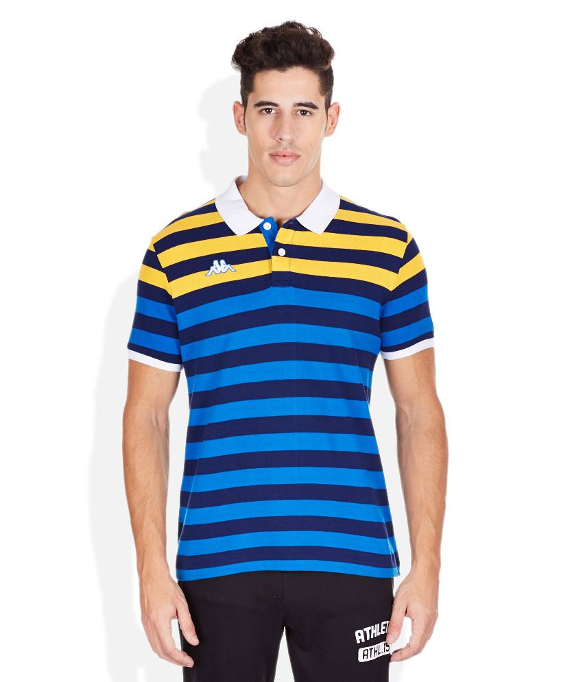 Kappa Blue Polo T-Shirt