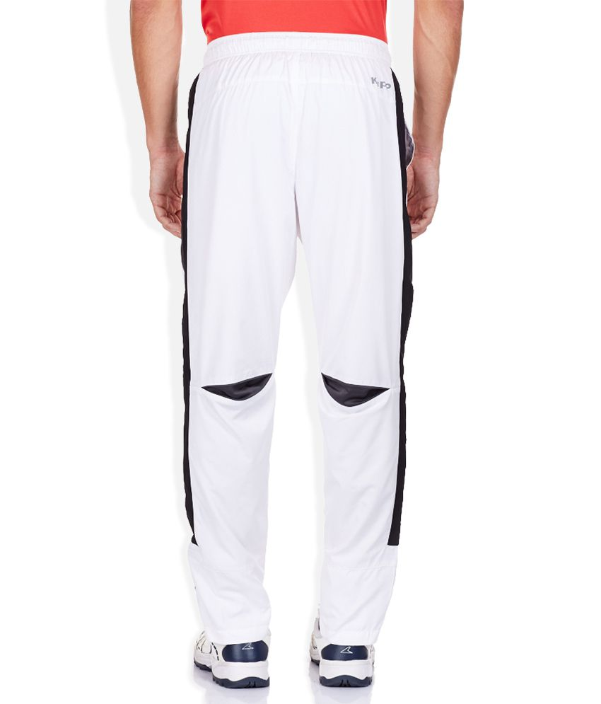 81c6fae72a2 Kappa White Trackpants - Buy Kappa White Trackpants Online at Low ...