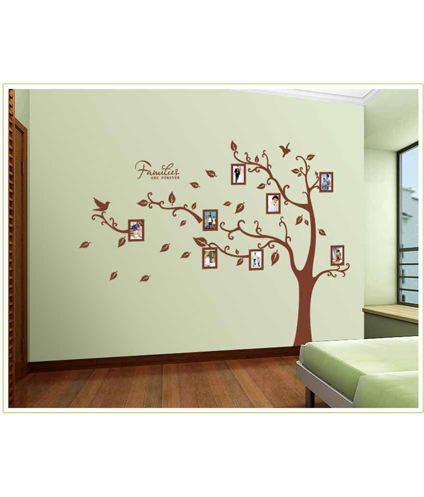 Oren Empower 2pc/set Extra Large Tree Wall Stickers/wall Decal With Photo  Frames ...