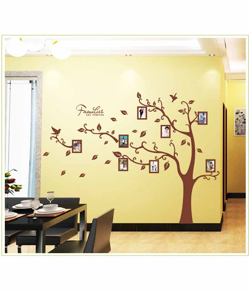 Wall stickers extra -  Oren Empower 2pc Set Extra Large Tree Wall Stickers Wall Decal With Photo Frames