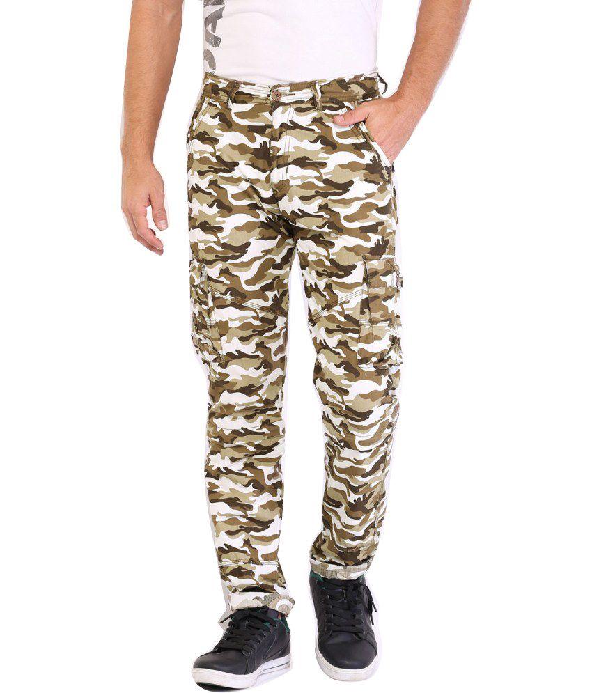 Sports 52 Wear Gray Cotton Cargo Pants
