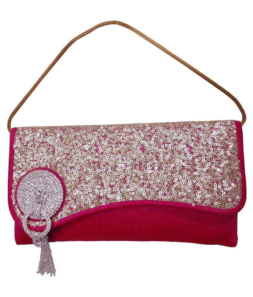 Balee Fashions Rani Silk Evening Clutches