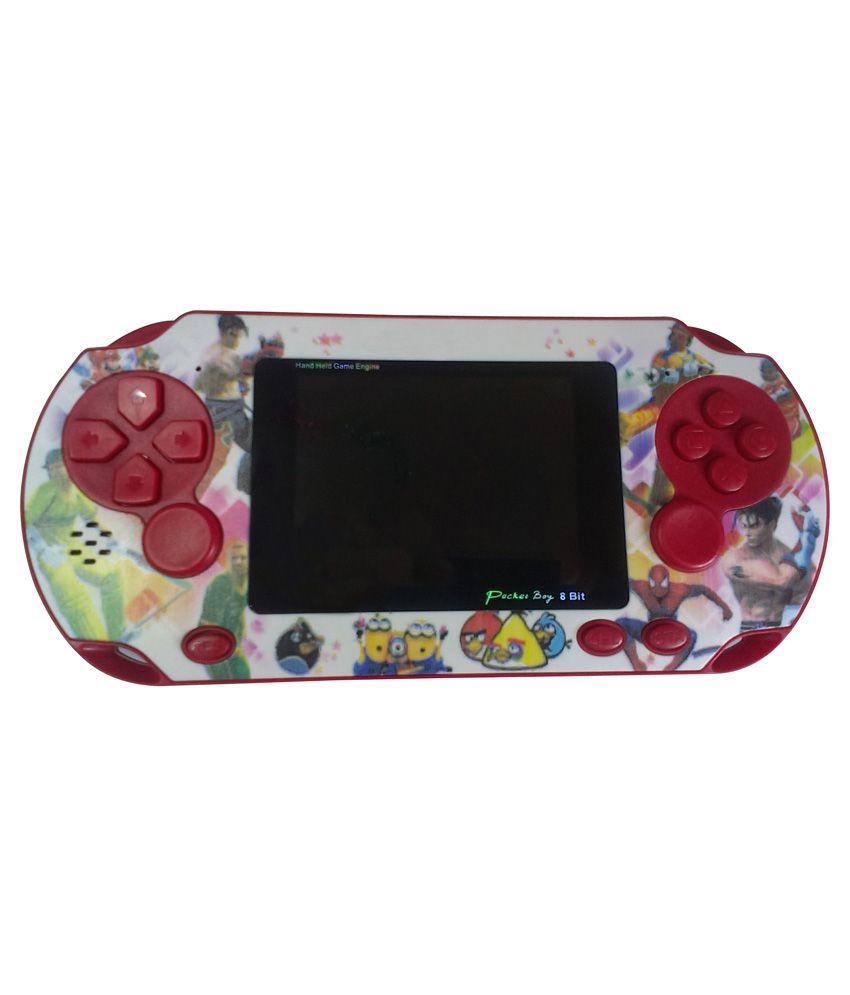 General AUX Vita 8 Bit Red Pocket Game