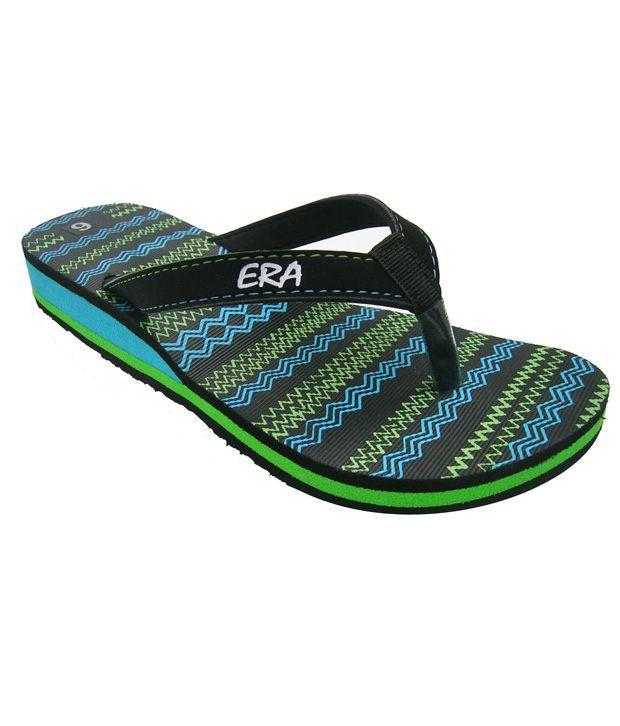ERA Black Slippers