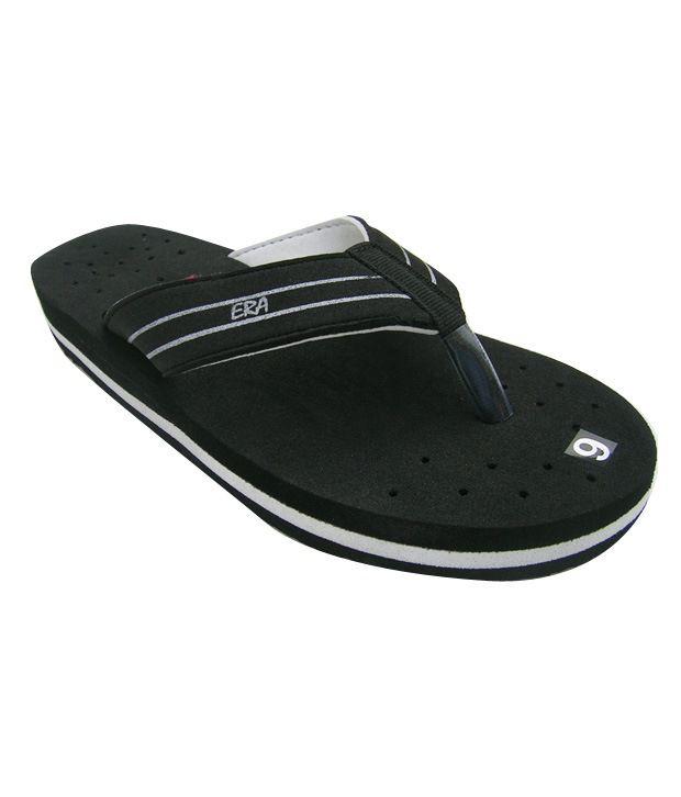 ERA EVA Black Flip Flops