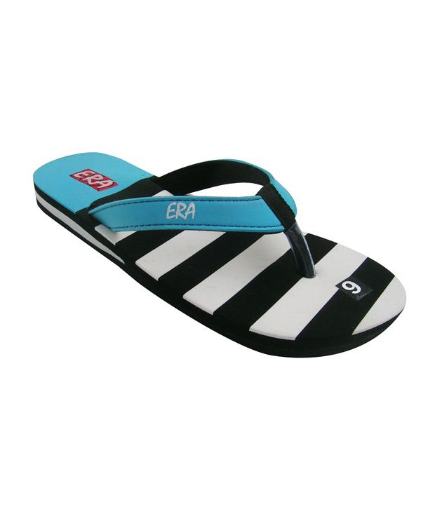 ERA EVA Blue & White Flip Flops