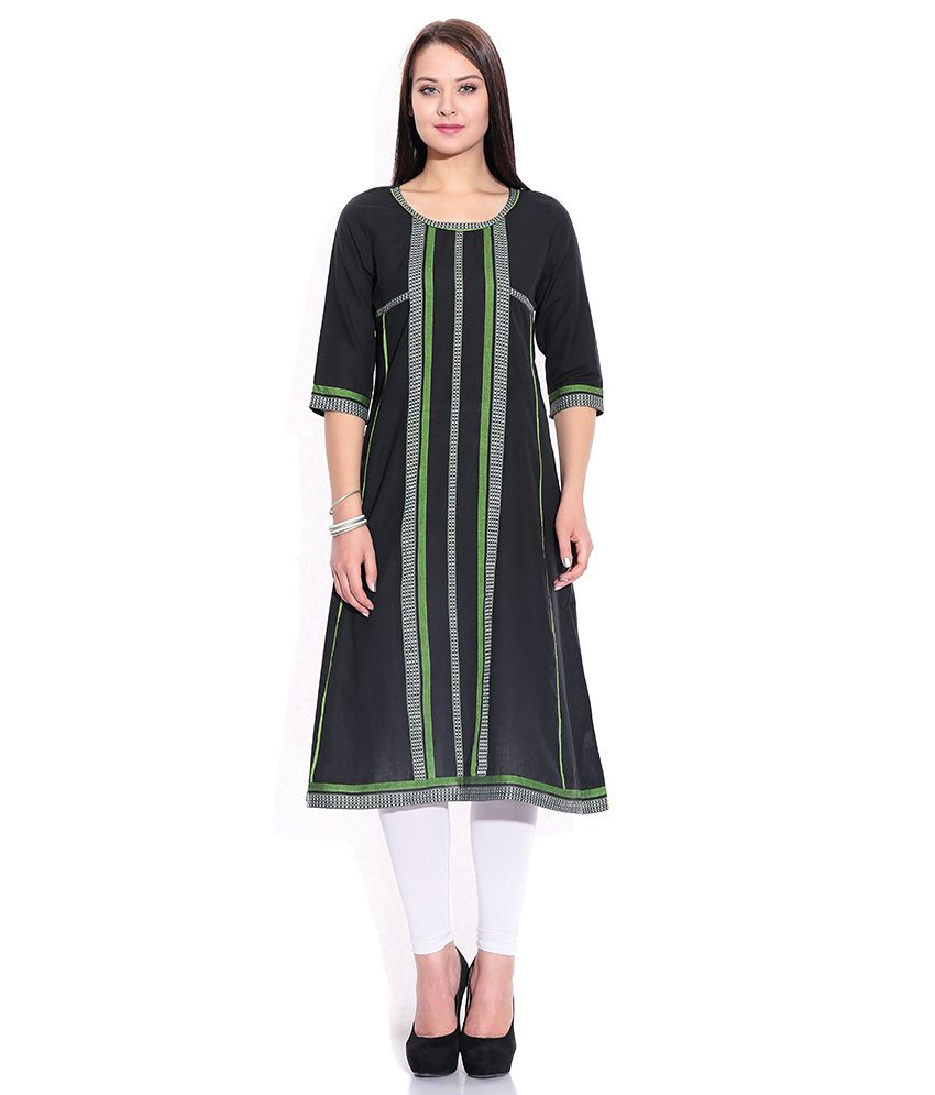 21acc50b55445c Aurelia Cotton Kurti With Churidar - Stitched Suit - Buy Aurelia Cotton  Kurti With Churidar - Stitched Suit Online at Low Price - Snapdeal.com