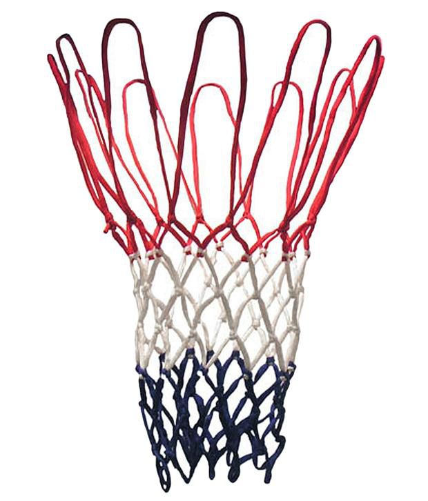 Sahni Sports Basketball Net Tri Colour Pack of 2