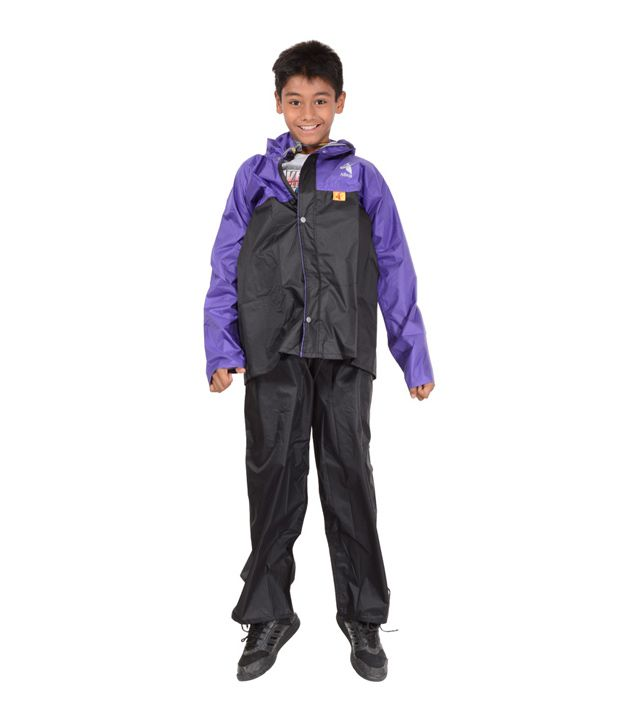 Allwin Black Polyester Men's Jacket - Shirt Attached With Cap & Pant