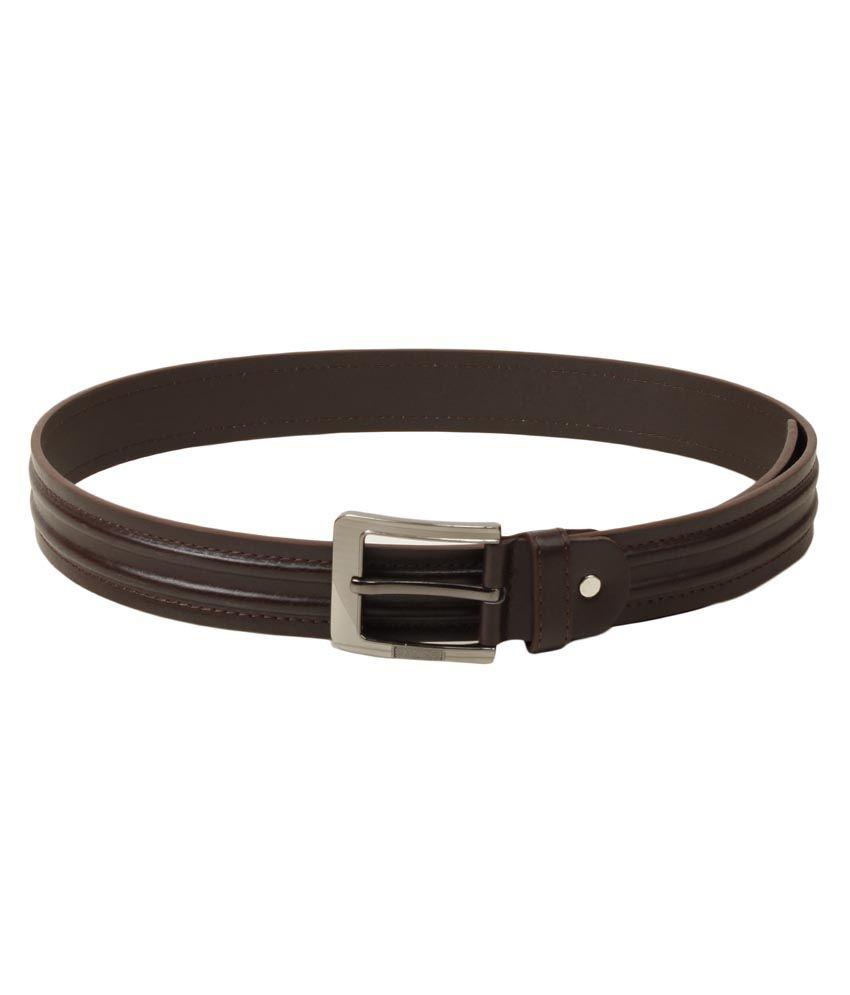 Trendz Deal Brown Pin Buckle Belt For Men