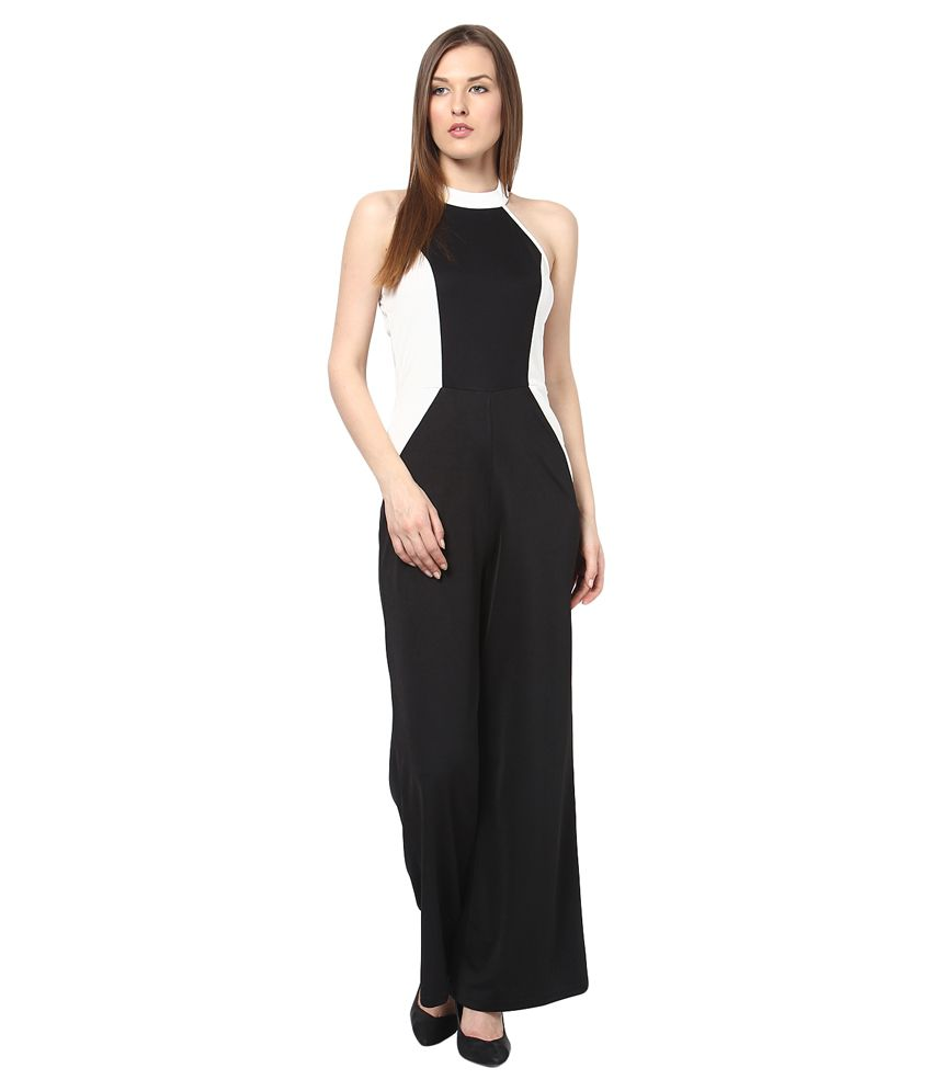 9ff8cf58cab2 Harpa Black Polyester Jumpsuits - Buy Harpa Black Polyester Jumpsuits Online  at Best Prices in India on Snapdeal