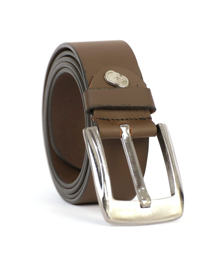 State Leather House Brown Formal Belt