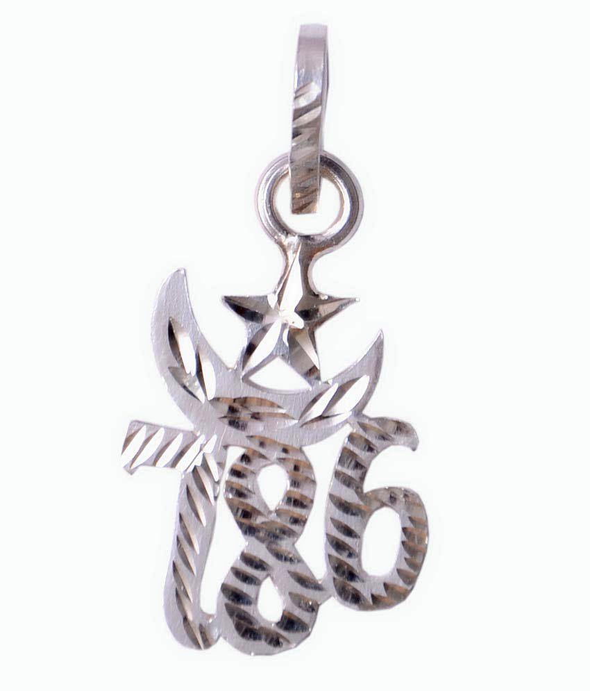 Chirag-Collectiom-Silver-786-Pendant-SDL