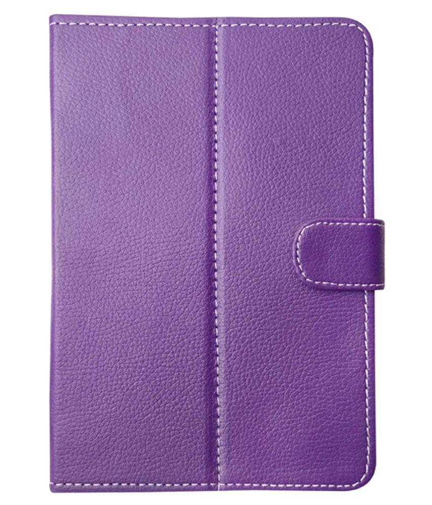best website 3addb 77439 Fastway Flip Cover For Samsung Galaxy Tab 3 V - Purple