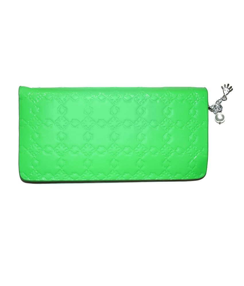 Vincitore Green Synthetic Clutch