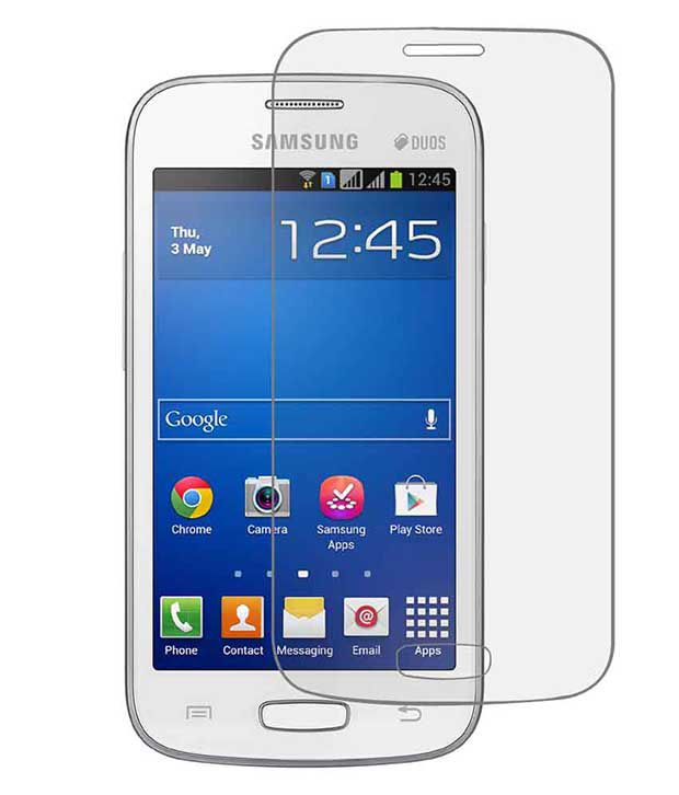 Samsung Galaxy Core Matte Screen Guard by Mob Star
