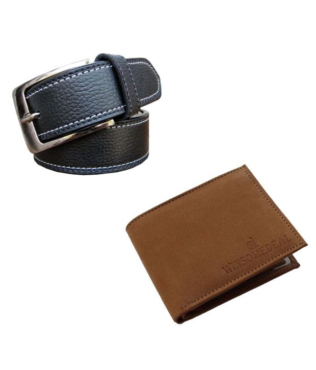 Winsome Deal Belt and Wallet Combo