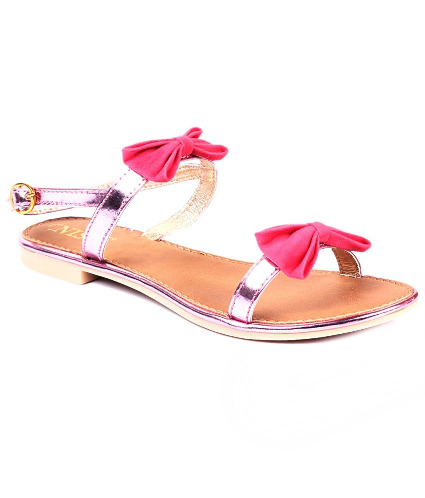 Gnist Fashionable Pink Sandals