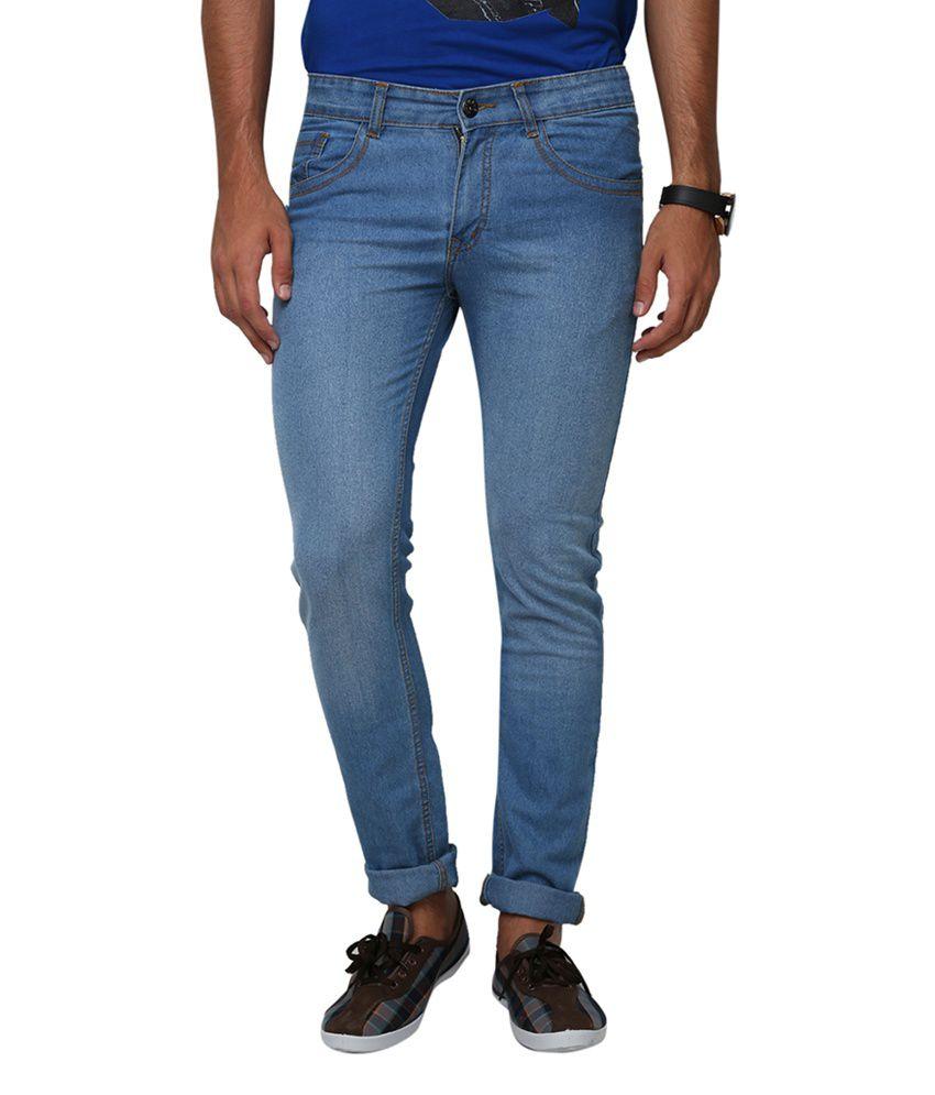 Yepme Richard Blue Denim Jeans - Light Wash