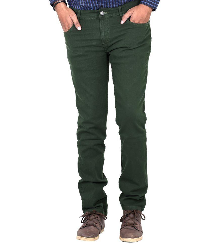 Indigen Green Cotton Blend Skinny Basics Jeans