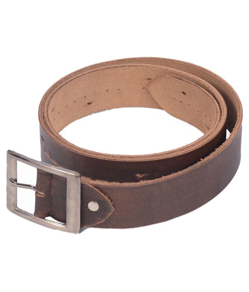 Victoria Secret India Black Leather Casual Belt