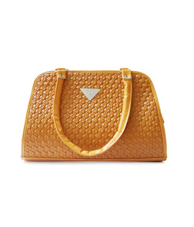 Kkj Tan Non Leather Shoulder Bags