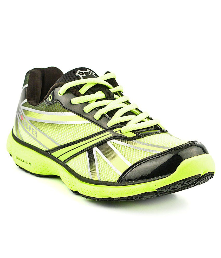 Lee Cooper Sports Green Sport Shoes