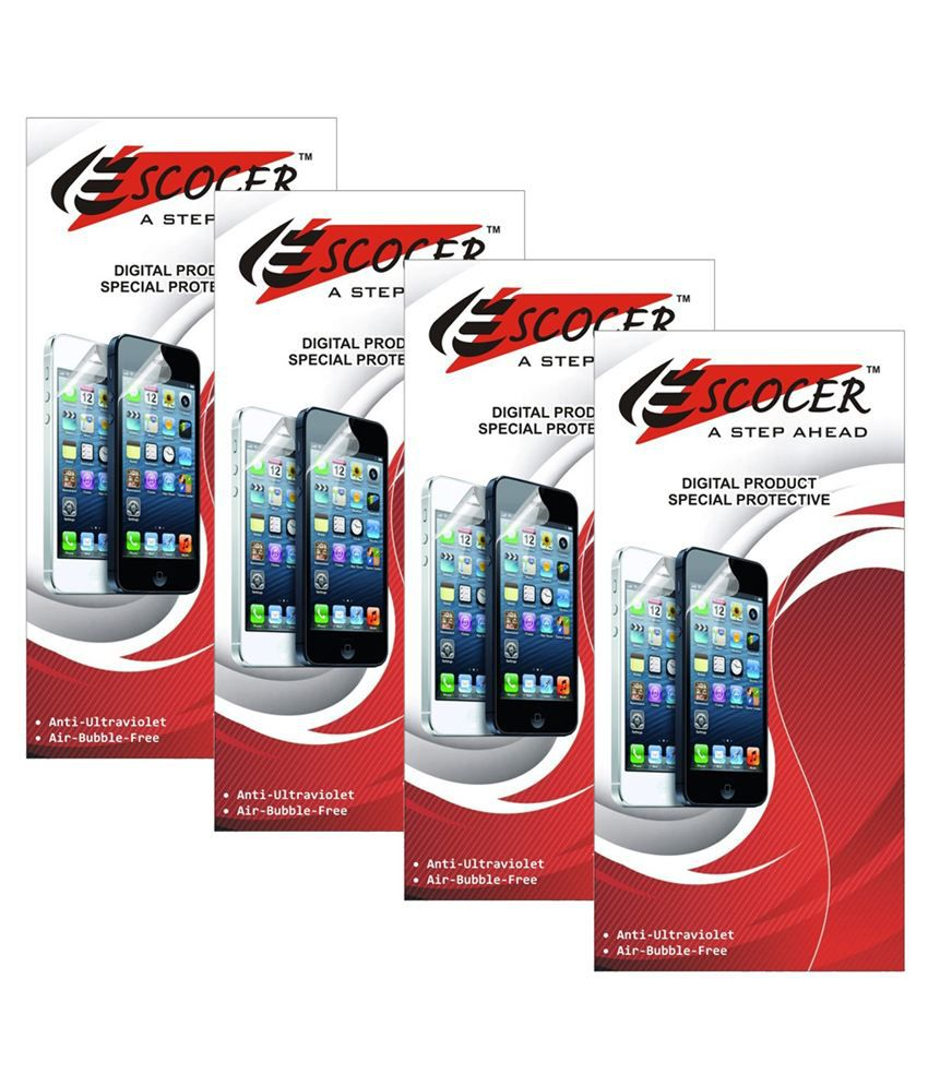Karbonn Titanium X Clear  Screen Guard by Escocer