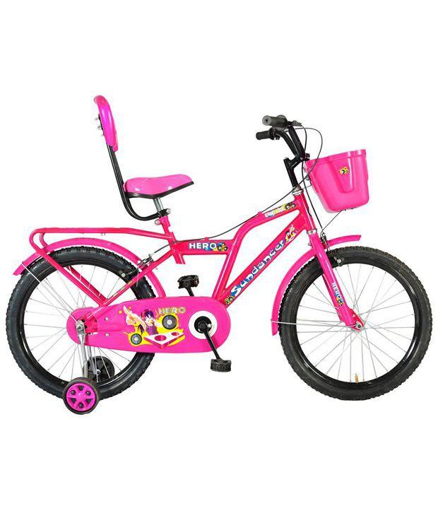 Hero Pink Sundancer 20t Junior Bicycle Kids Bicycles Girls Bicycle