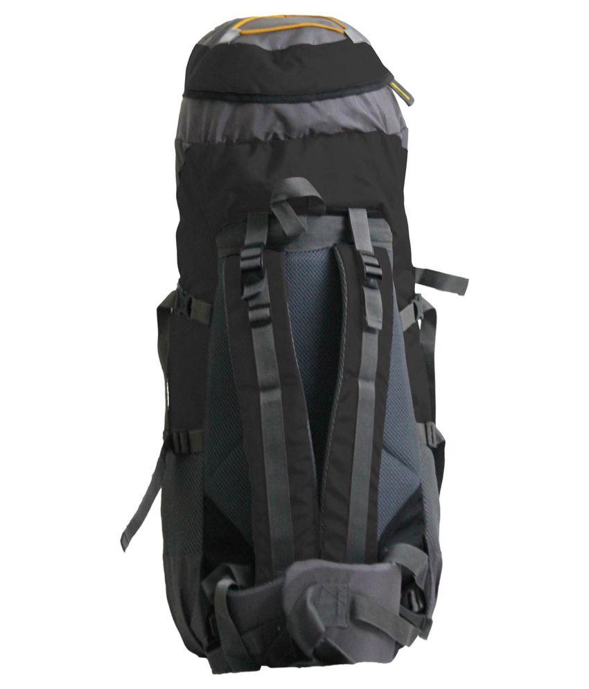 Inlander Black Polyester Hiking Backpack - Buy Inlander Black ...