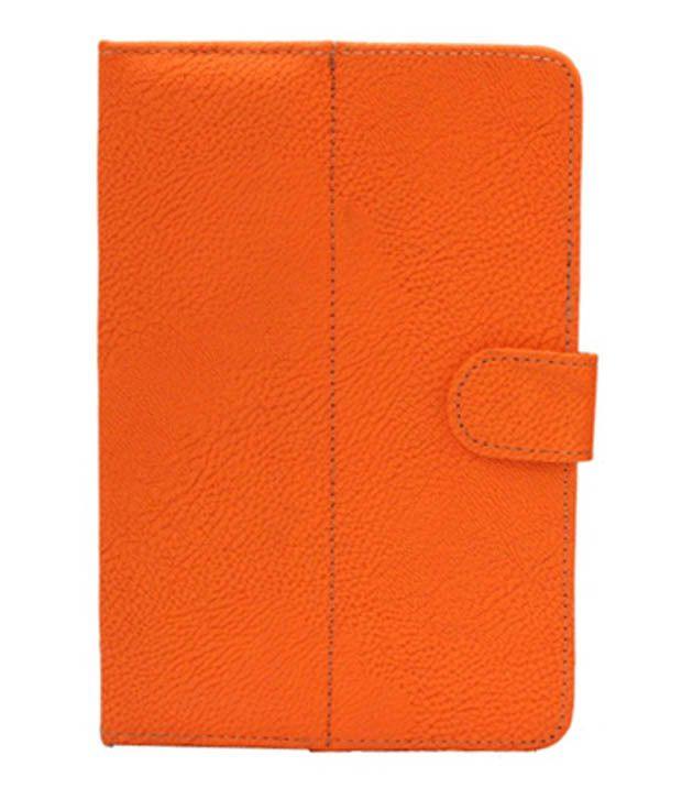 Jo Jo G8 Soft Leather Flip Cover For T-Mobile Springboard - Orange