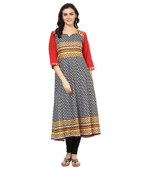 Shakumbhari Multi Color Cotton Kurti
