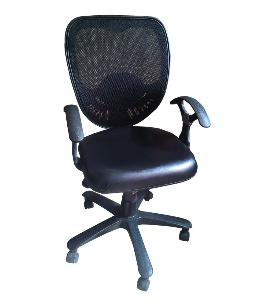 Trends Revolving Office Stool In Black Best Price In India
