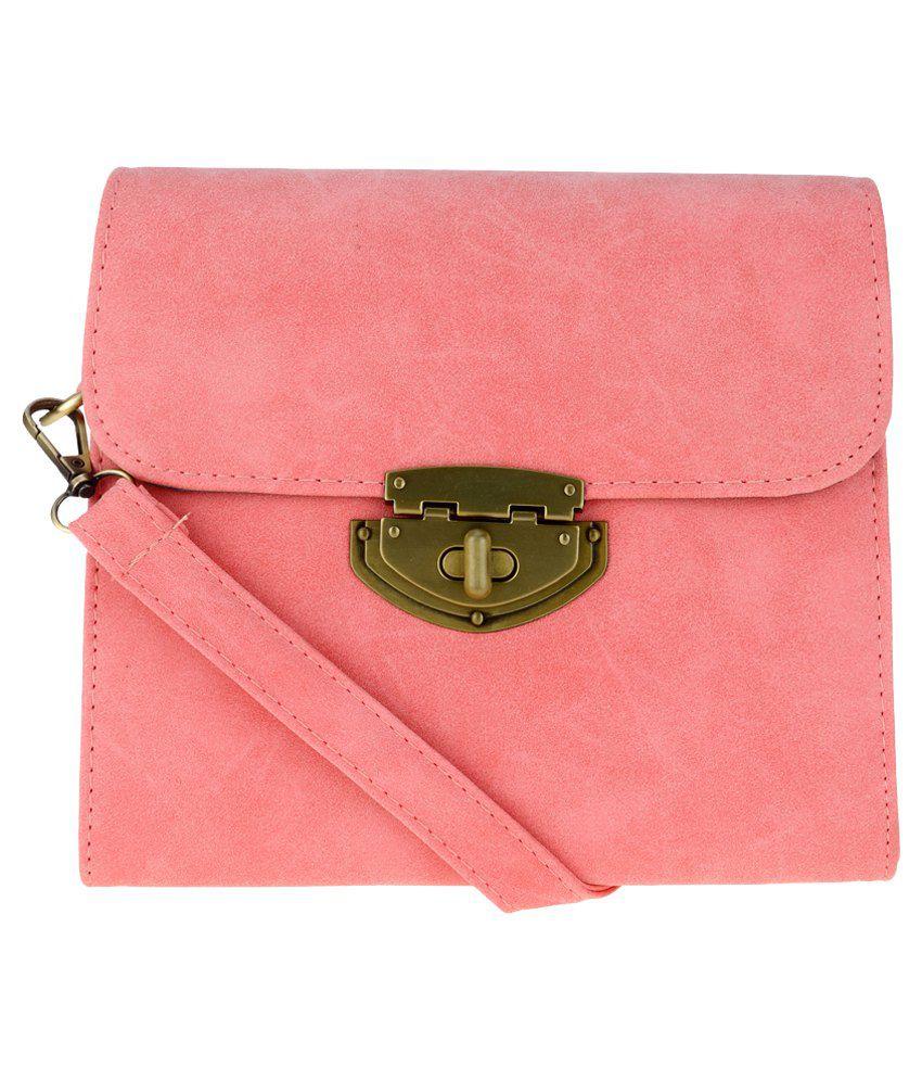 Kalon Pink Sling Bag