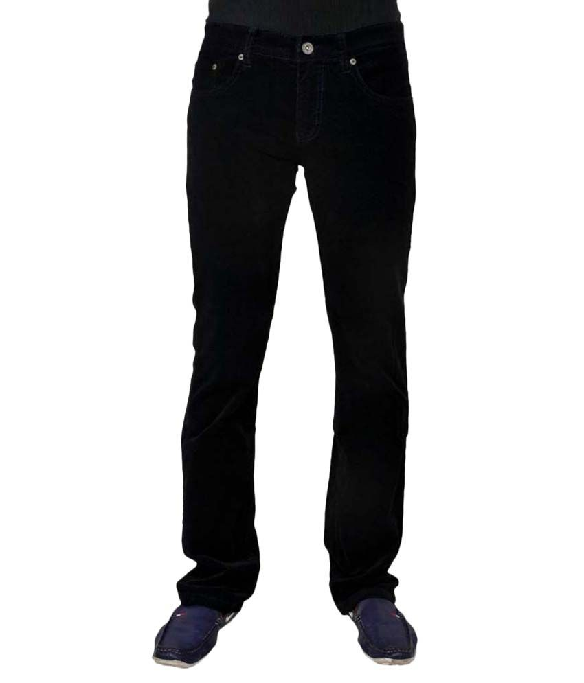 Wesair Black Cotton Blend Jeans