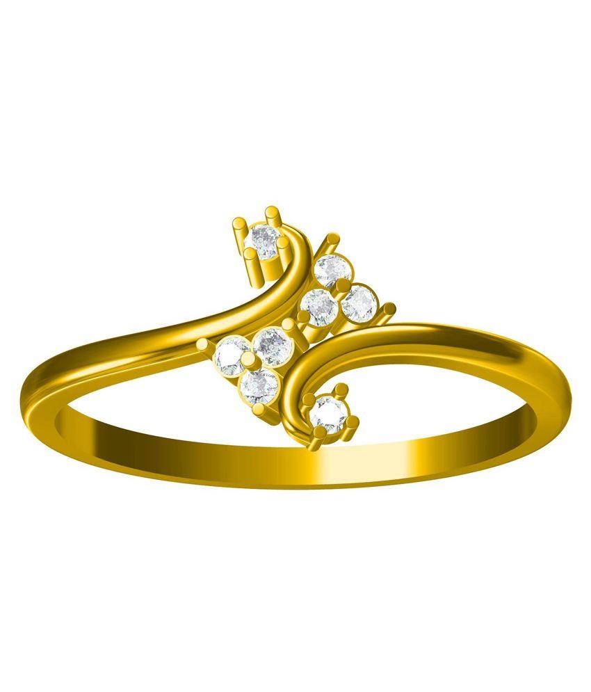 Bluemoon 14kt Gold Diamond Ring