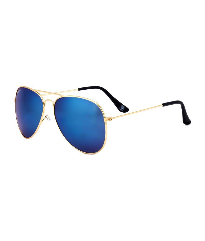 Royal Son Blue Aviator Sunglasses ( RS001AV )