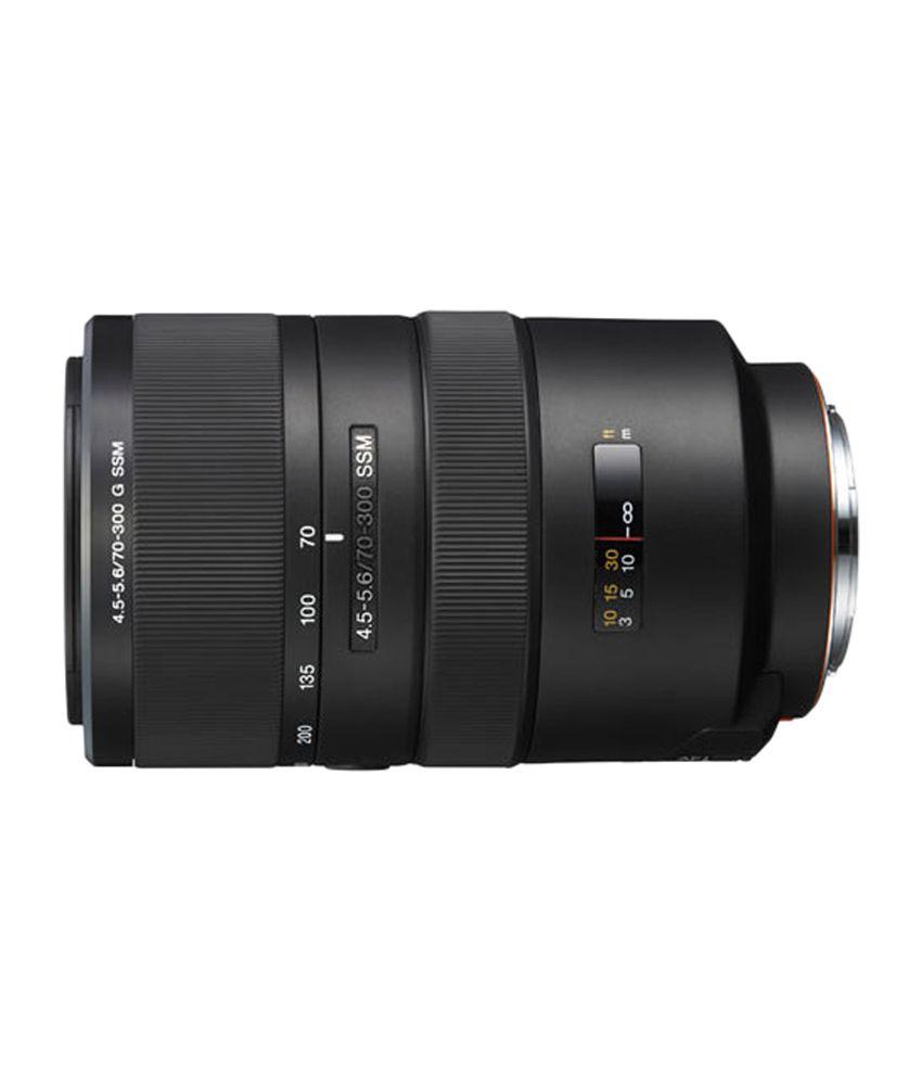 Sony 70-300 mm F4.5-5.6 G SSM Zoom Lens